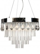 Chic Crystal Chandelier 156x207