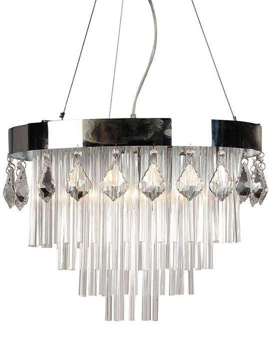Chic Crystal Chandelier