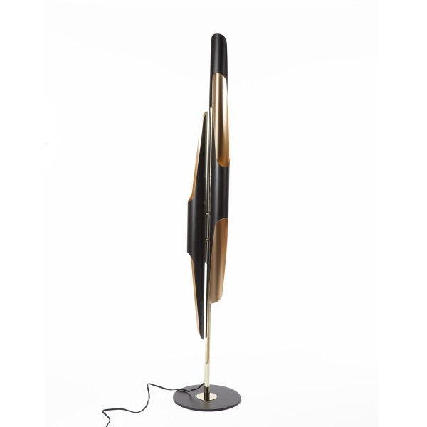 Deco Gold Black Floor Lamp 1