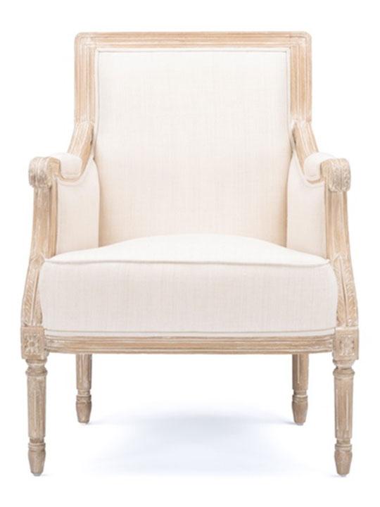 Empress Linen Armchair