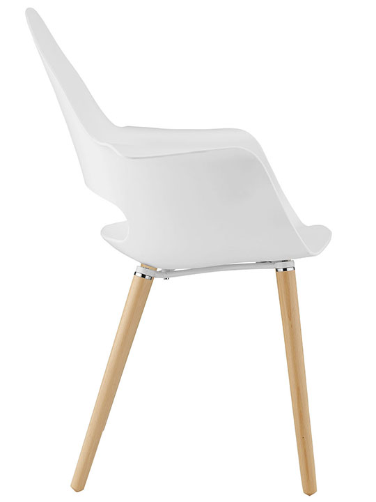 Galaxy Chair White 2