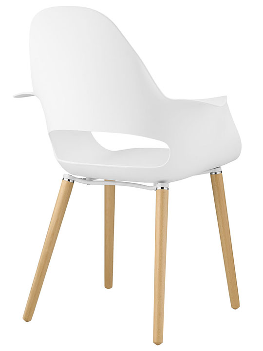 Galaxy Chair White 3