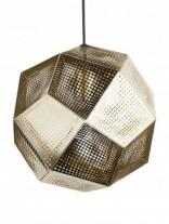 Gold Contour Pendant Lamp 156x207