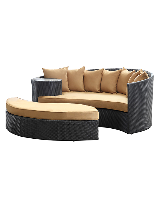 Light Brown Austin Outdoor Sofa Set