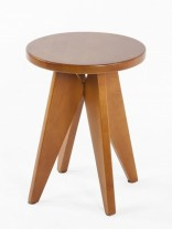 Pinner Walnut Wood Side Table 156x207