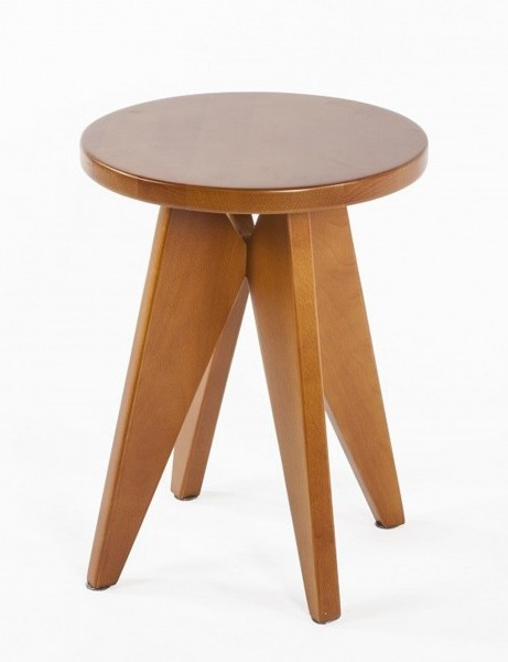 Pinner Walnut Wood Side Table 461x600