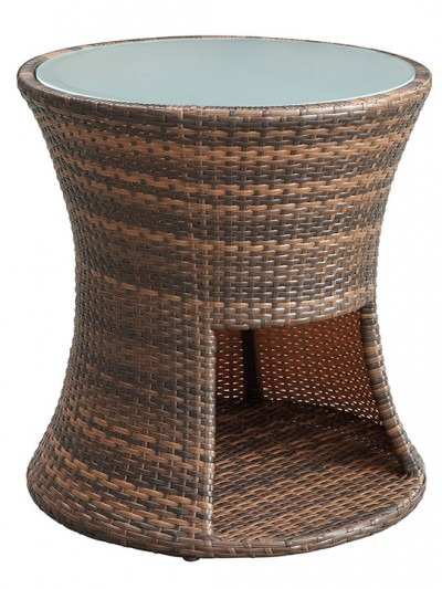 Rattan Drum Side Table e1435094451123