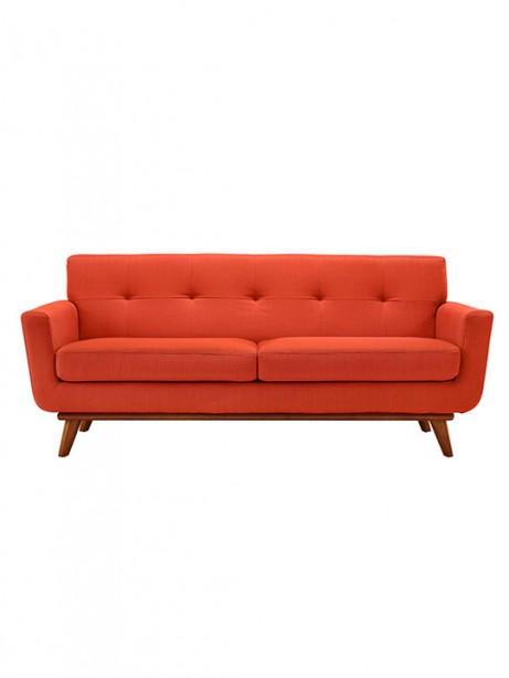 Red Orange Pop Art Loveseat 461x614