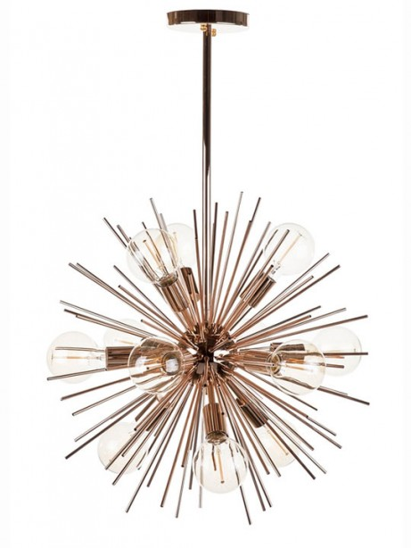 Rose Gold Spine Pendant Lamp 2 461x614