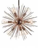 Rose Gold Spine Pendant Lamp 3 156x207