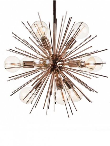 Rose Gold Spine Pendant Lamp 3 461x614