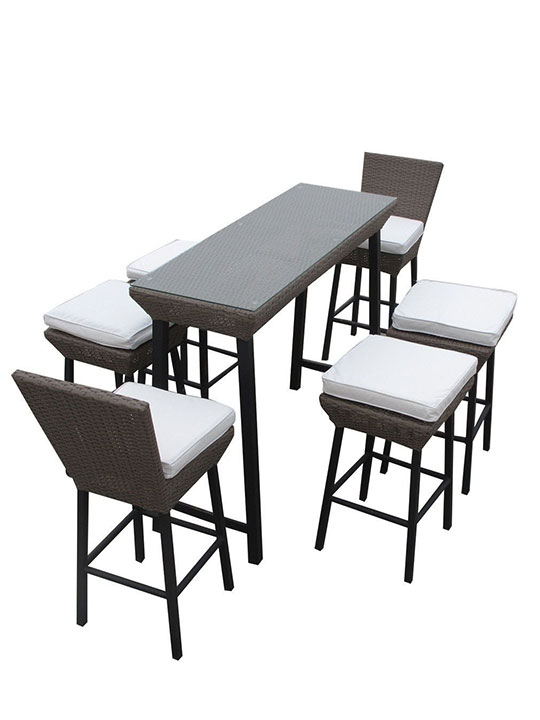 Seaside Outdoor Dining Set 5
