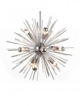 Spine Silver Pendant Light 156x207