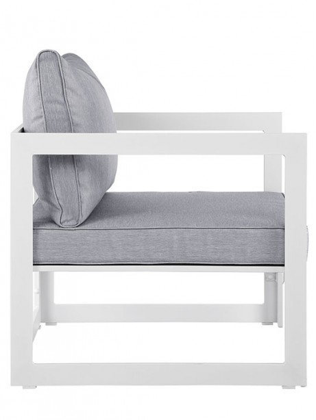 Star Island Outdoor Armchair White Gray Cushion 2 461x614