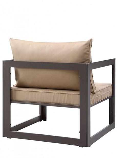 Star Island Outdoor Armchair brown Light brown cushion 3 461x614