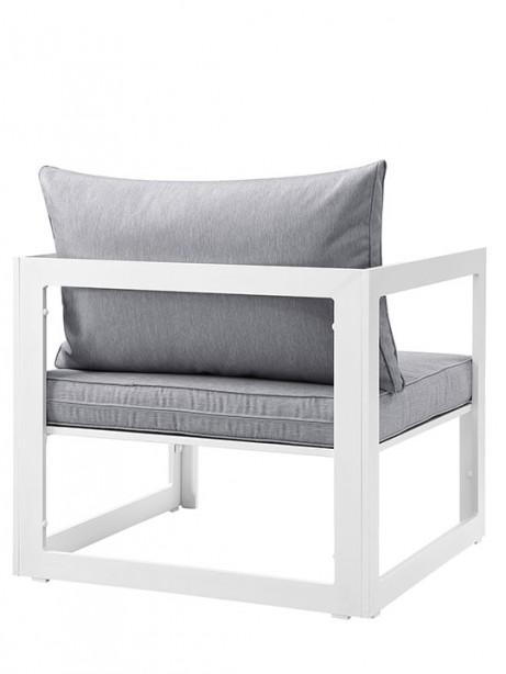 Star Island Outdoor Armchair white gray cushion 3 461x614