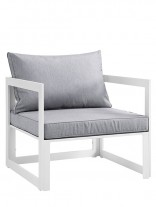 Star Island Outdoor Chair White Grey Cushion 1 156x207