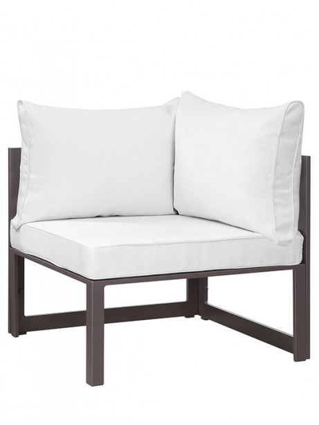 Star Island Outdoor Corner Brown White Cushion 1 461x614
