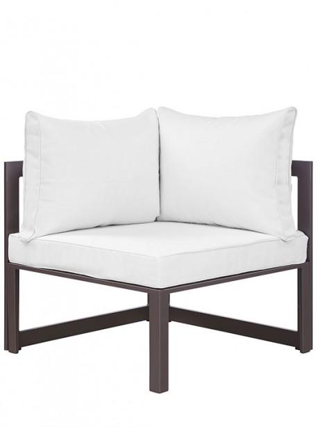 Star Island Outdoor Corner Chair Brown White Cushion 3 461x614