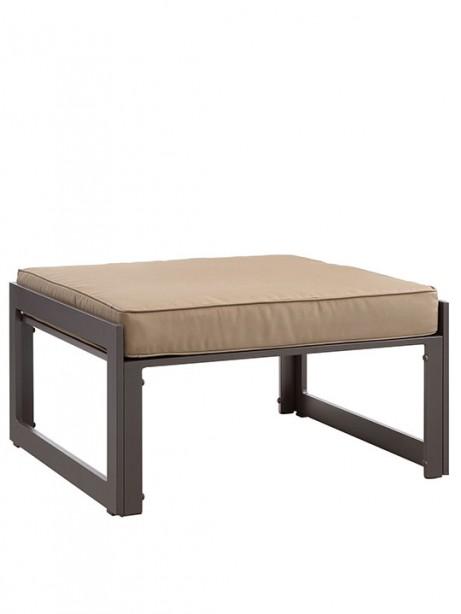 Star Island Outdoor Ottoman Brown Light Brown Cushion 1 461x614