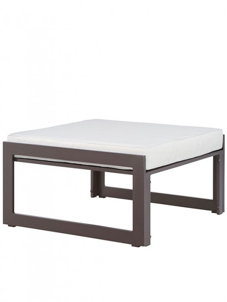 Star Island Outdoor Ottoman Brown White Cushion 3 461x614