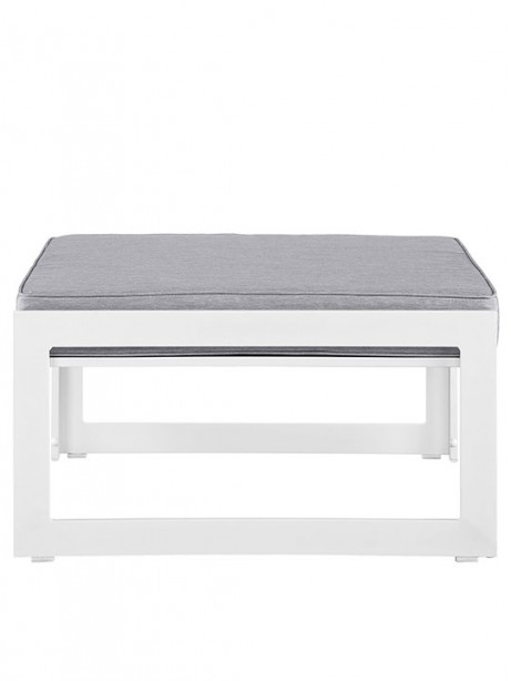 Star Island Outdoor Ottoman White Gray Cushion 2 461x614