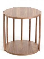 Stilt Natural Wood Side Table 156x207