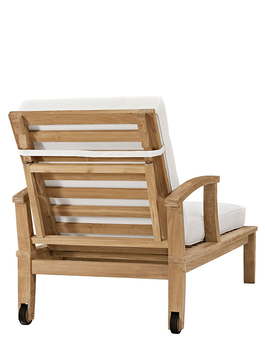 Teak Outdoor Lounge CHair 3