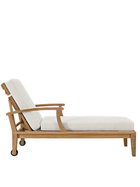 Teak Outdoor Lounge Chair 4
