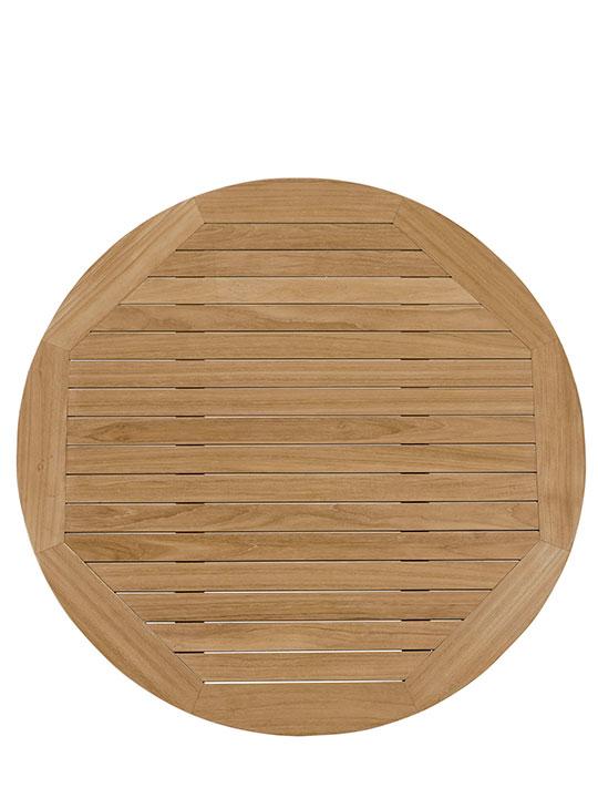 Teak Outdoor Round Coffee Table | Modern Furniture ...