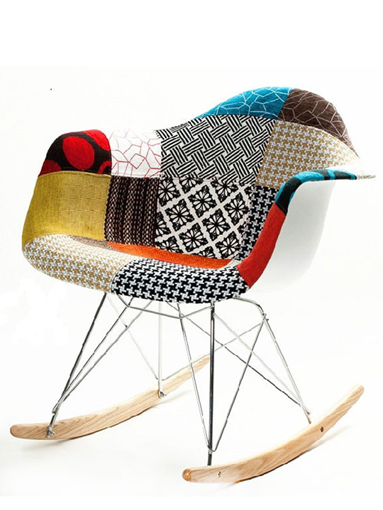 Textile Rocking Chair