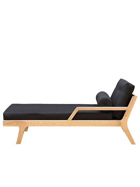 Tranquillity Wood Chaise Lounge Modern Furniture