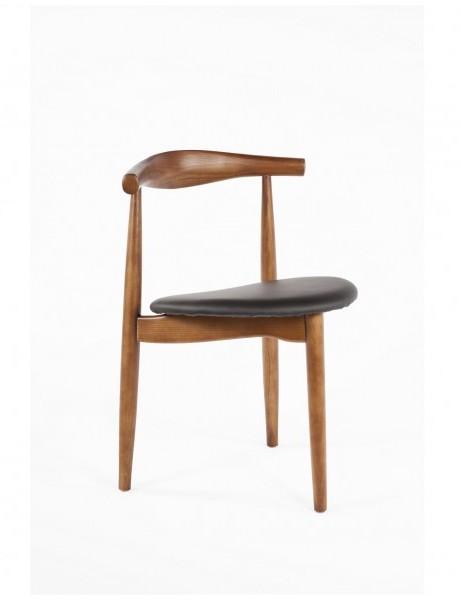 Tripod Wood Mid Century Chair 461x600