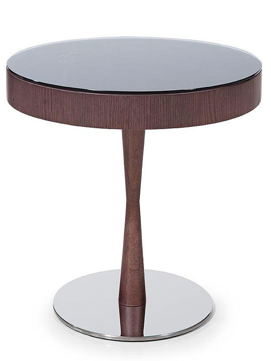 Wenge Wood Display Side Table