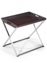 Wenge Wood Tray Side Table 156x207