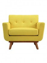 Yellow Pop Art Deco Armchair 156x207