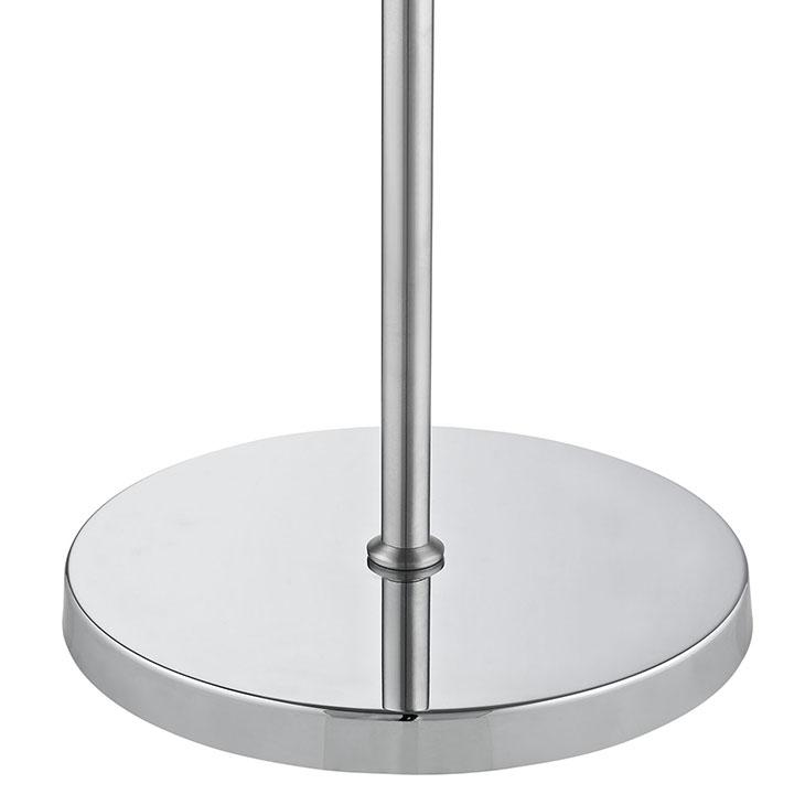 pose floor lamp silver base 2