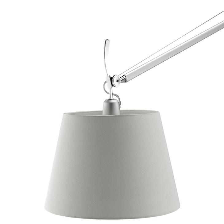 pose floor lamp silver base 3