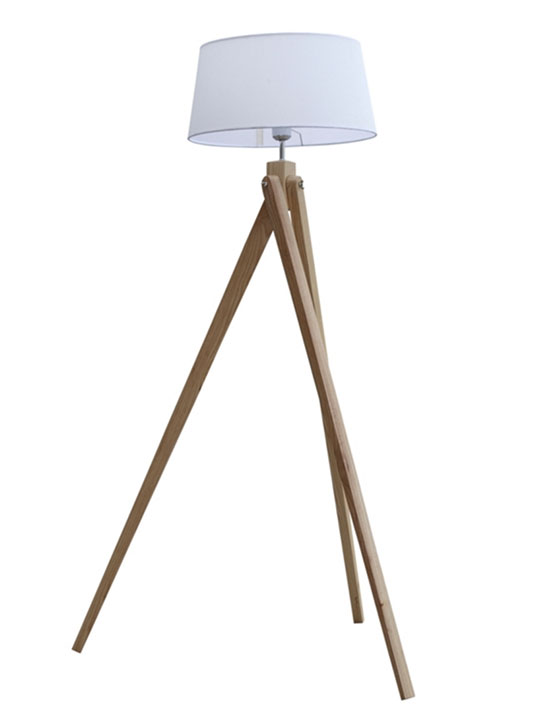stance wood floor lamp