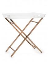 Acrylic Bronze Tray Table 156x207