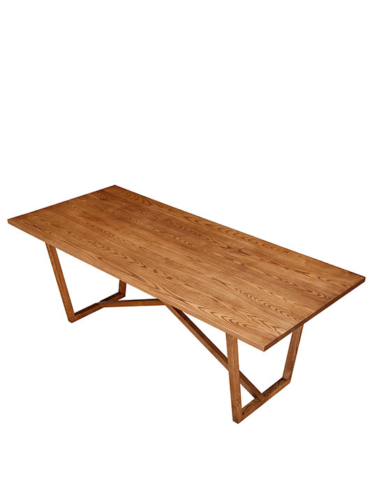 Ark Walnut Wood Dining Table
