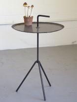 Black Metal Side Table 156x207