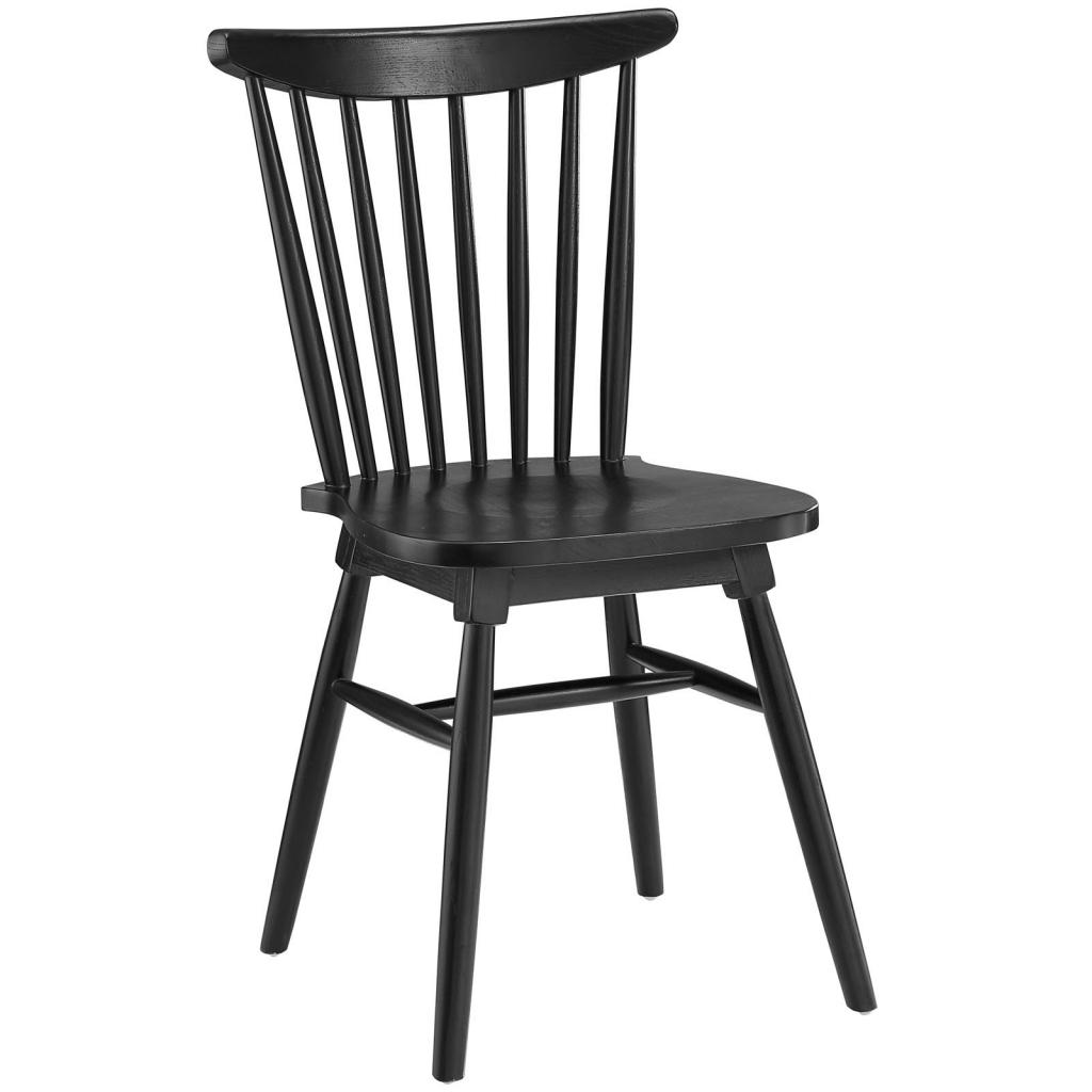 Black Wood Frazen Chair 3