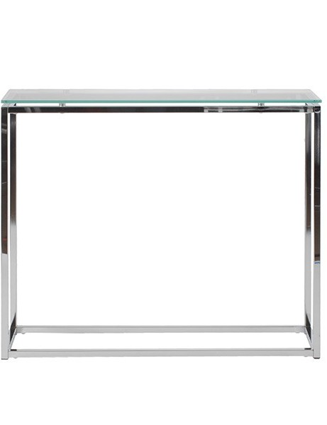 Chrome Glass Console Table1 461x600