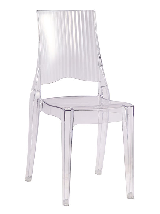 Clear Whisper Chair