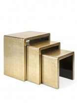 Gold Nesting Table Set 156x207