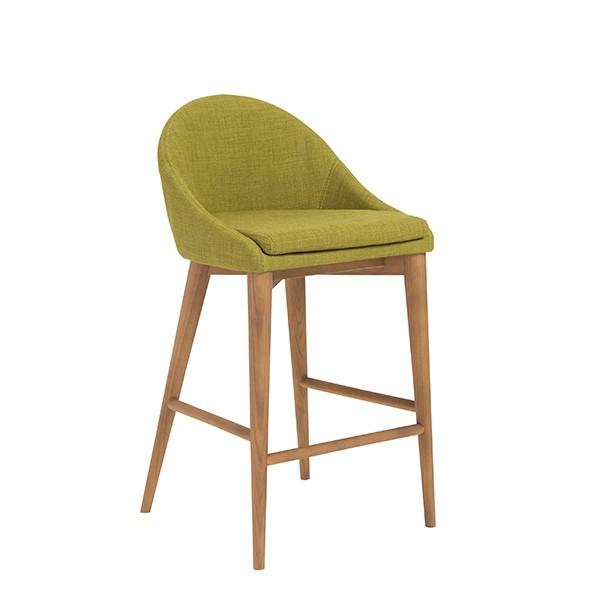 Green Fabric Westside Barstool 2