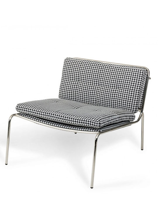 Houndstooth Mod Accent Chair
