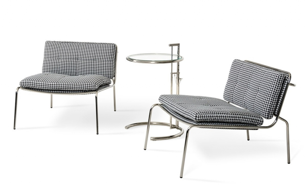 Houndstooth Mod Accent Chair1