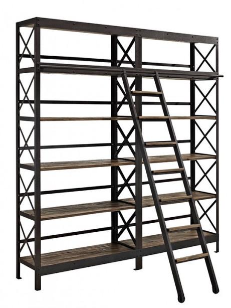 Industrial Wood Shelving Unit1 461x614